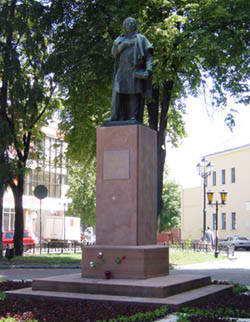 Pomnik A. Mickiewicza obecnie / fot. Kazimierz Mierzwa